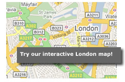 Extract from Stay and Shop in London map